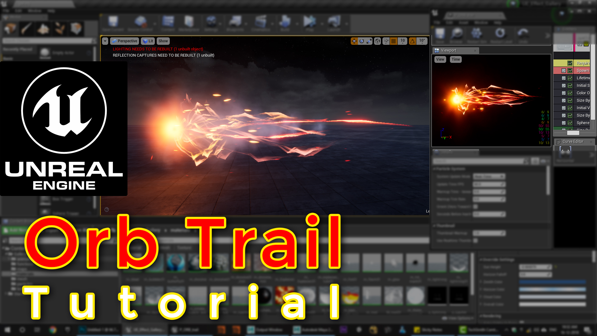 Unreal Engine | Orb Trail Tutorial | - Real Time VFX