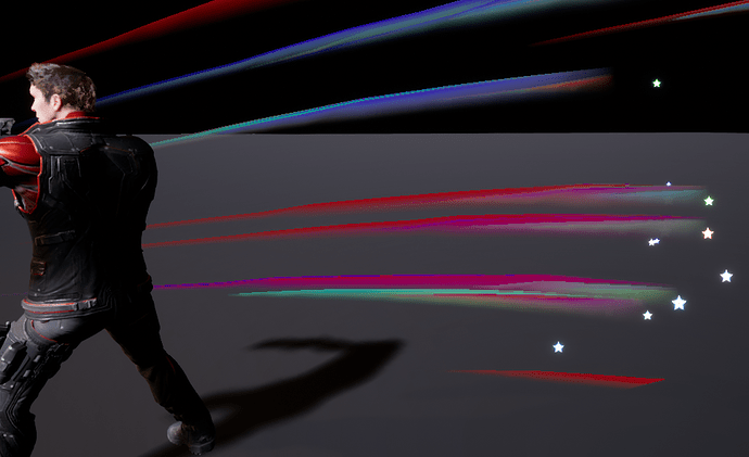 RGBVector_Trails_MultipleEmitters