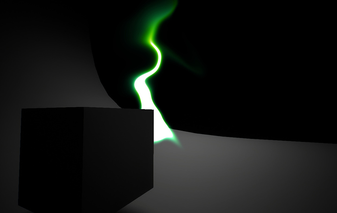 depth occlusion screenshot