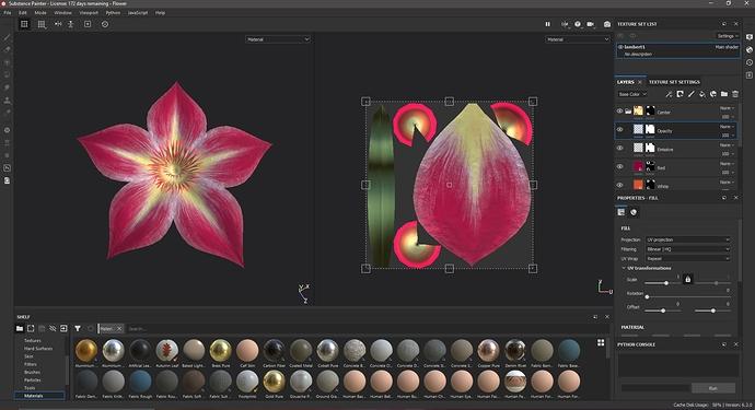 Flower Texturing