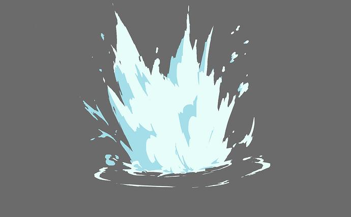 2.4 water splash