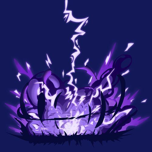Dark Electric Explosion
