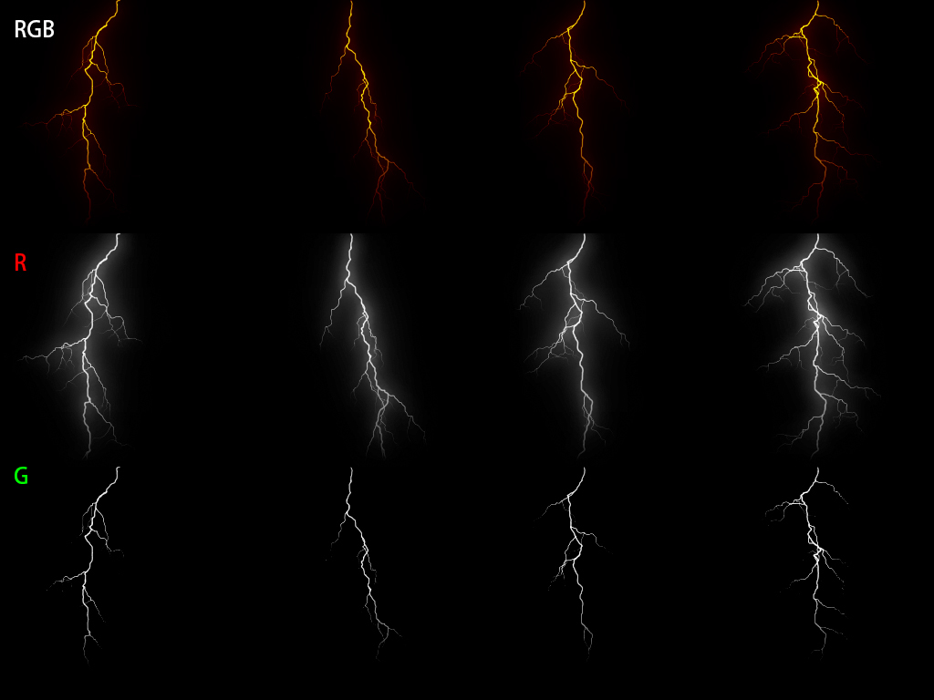 Lightning effect with unity custom data - Real Time VFX