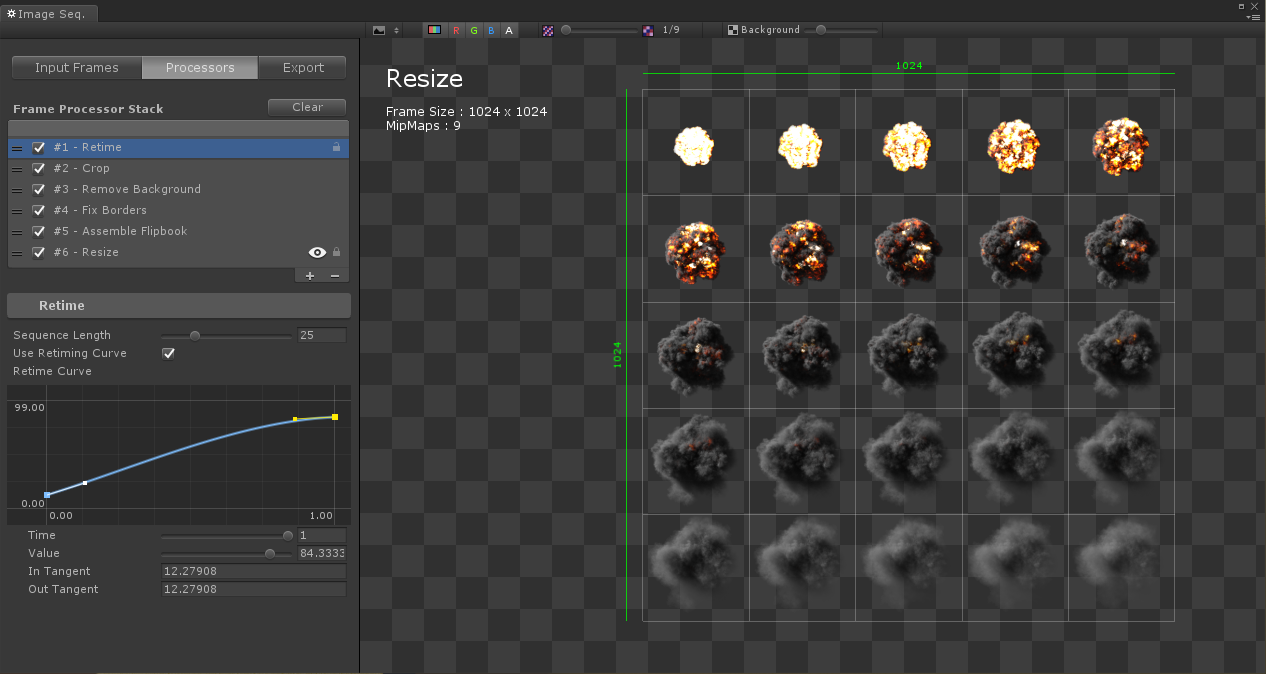 Unity] Experimental VFX Image Sequencer (for flipbook texture sheets