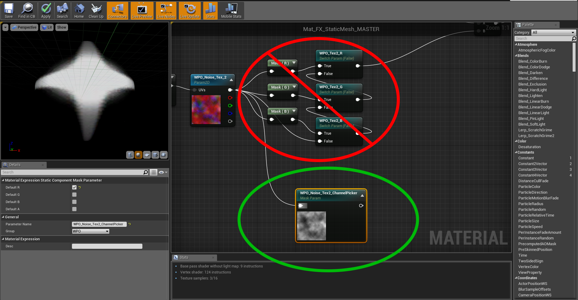 UE4 Parameter PSA - Real Time VFX