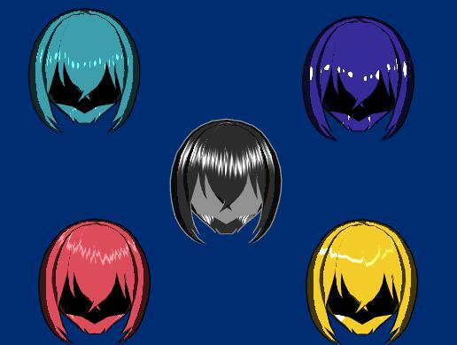 A Stylized Anisotropy Specular Can create anime style hair