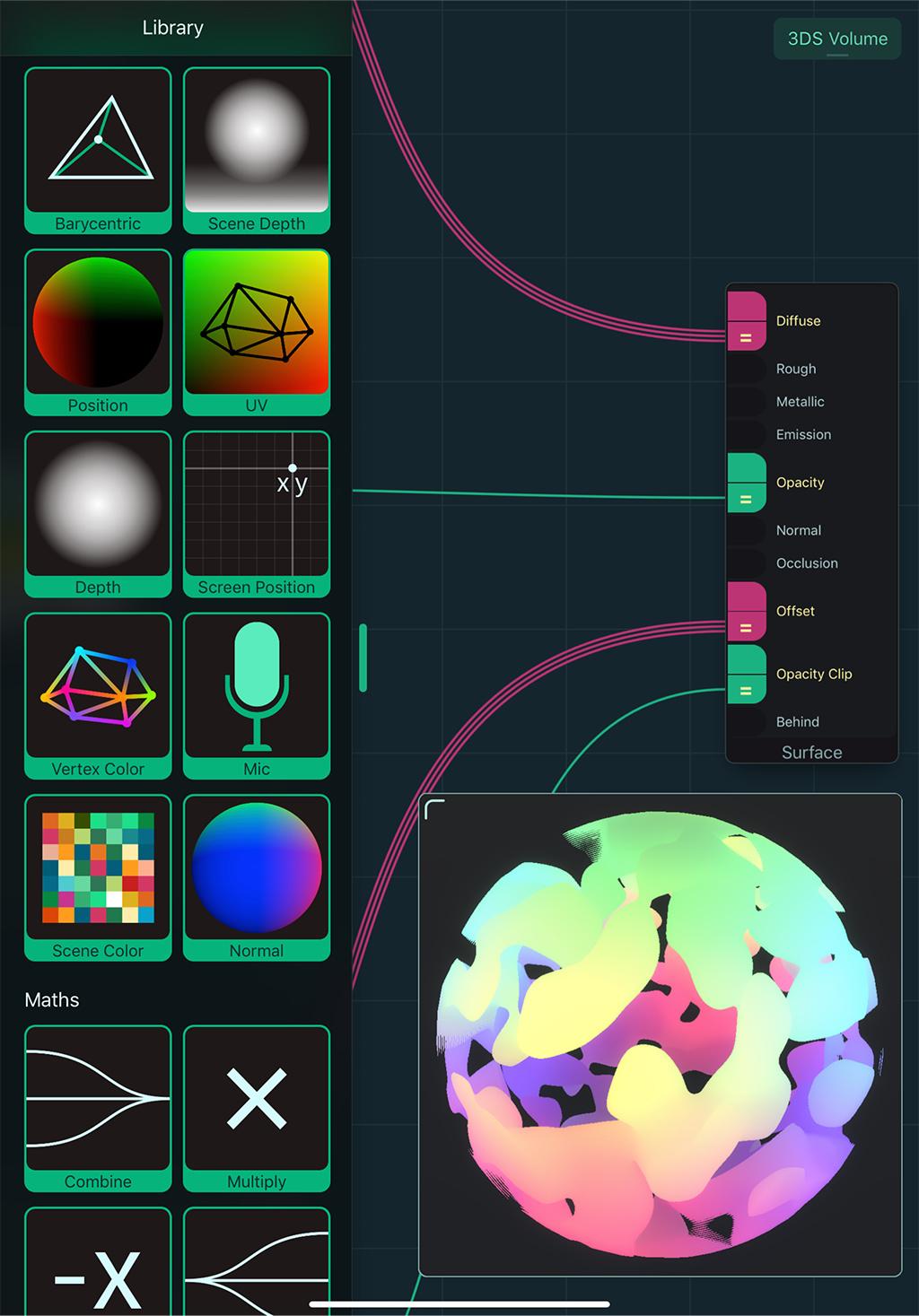 Shade - mobile node-based shader creation on iOS + Unity