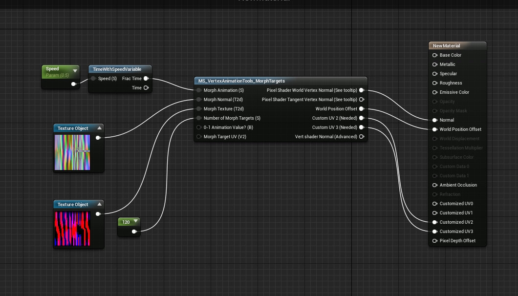 Vertex Animation Inside a Material - UE4 - [SOLVED] - Real