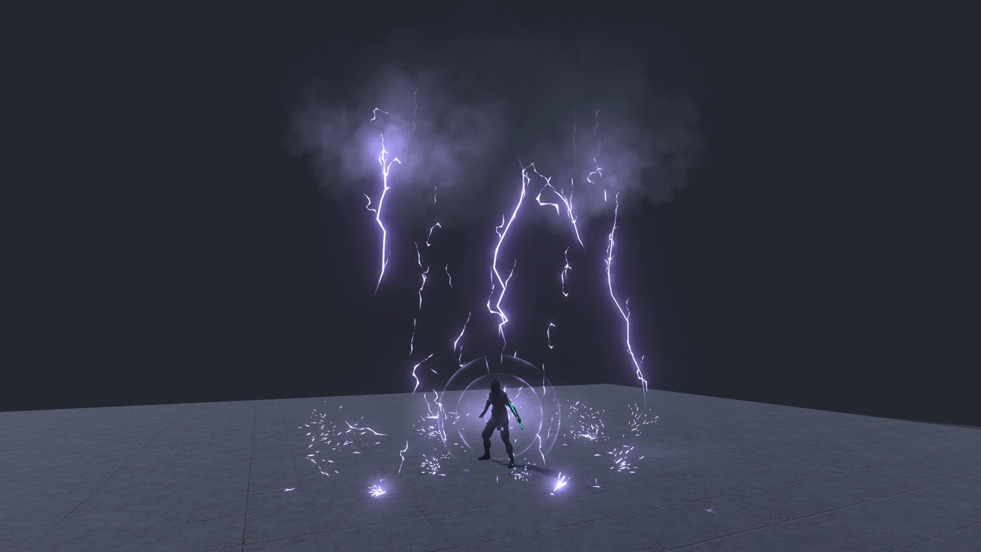 AOE Magic spells Vol 1 - Real Time VFX