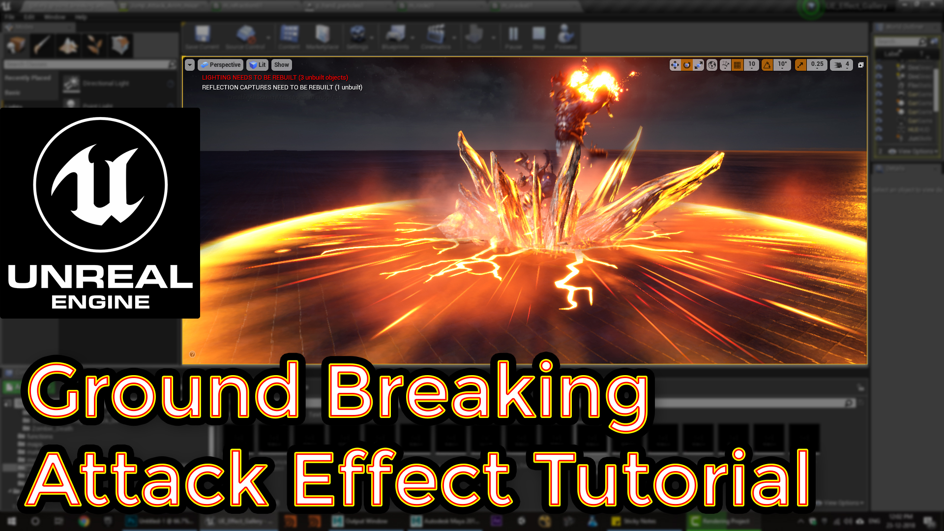 Unreal Engine VFX Tutorials - Real Time VFX