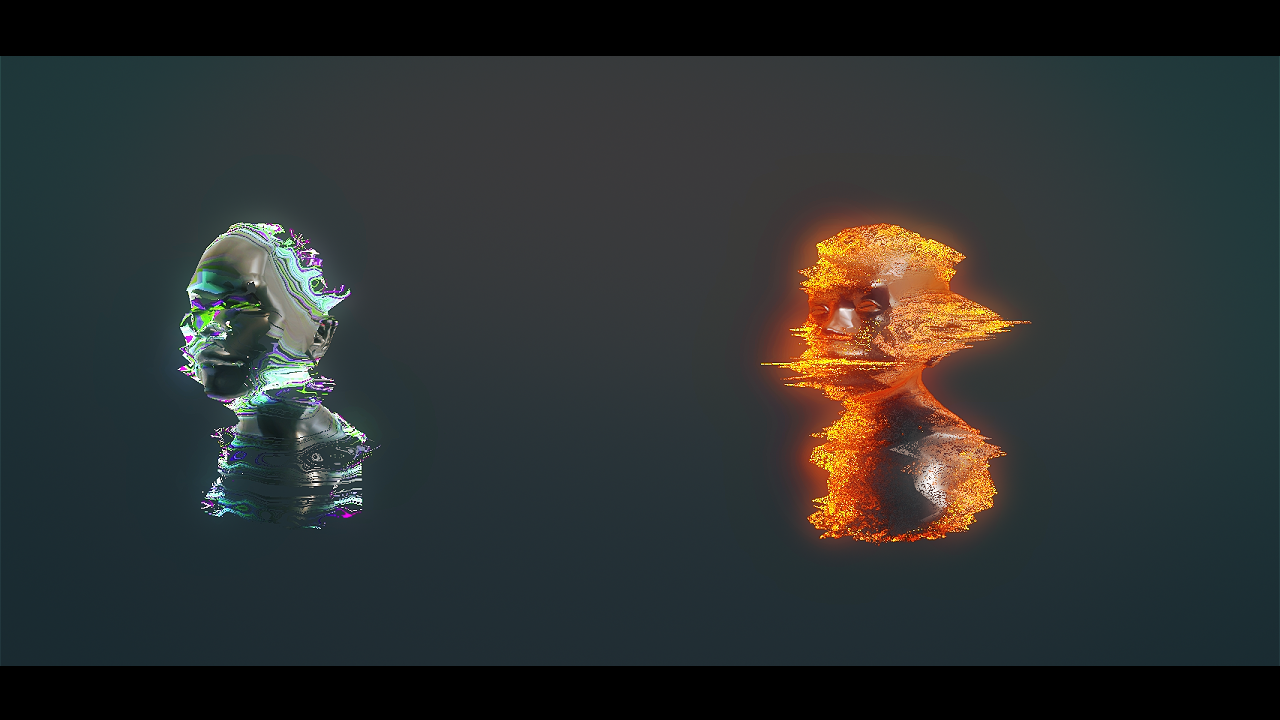 Shader : HOLO FX - My new Unity Holo/Glitch FX pack - Real