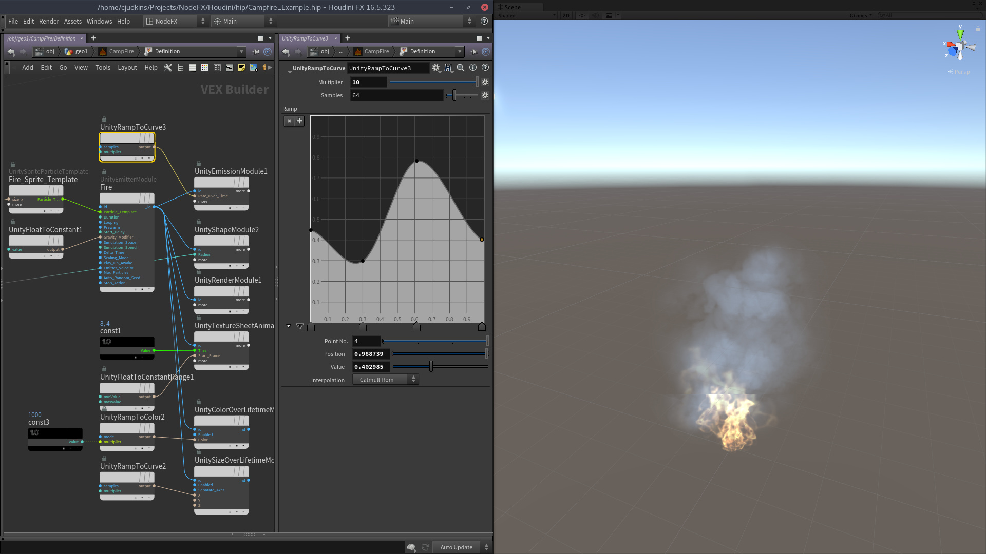 Creating Particle Systems in Unity using Houdini - Real Time VFX