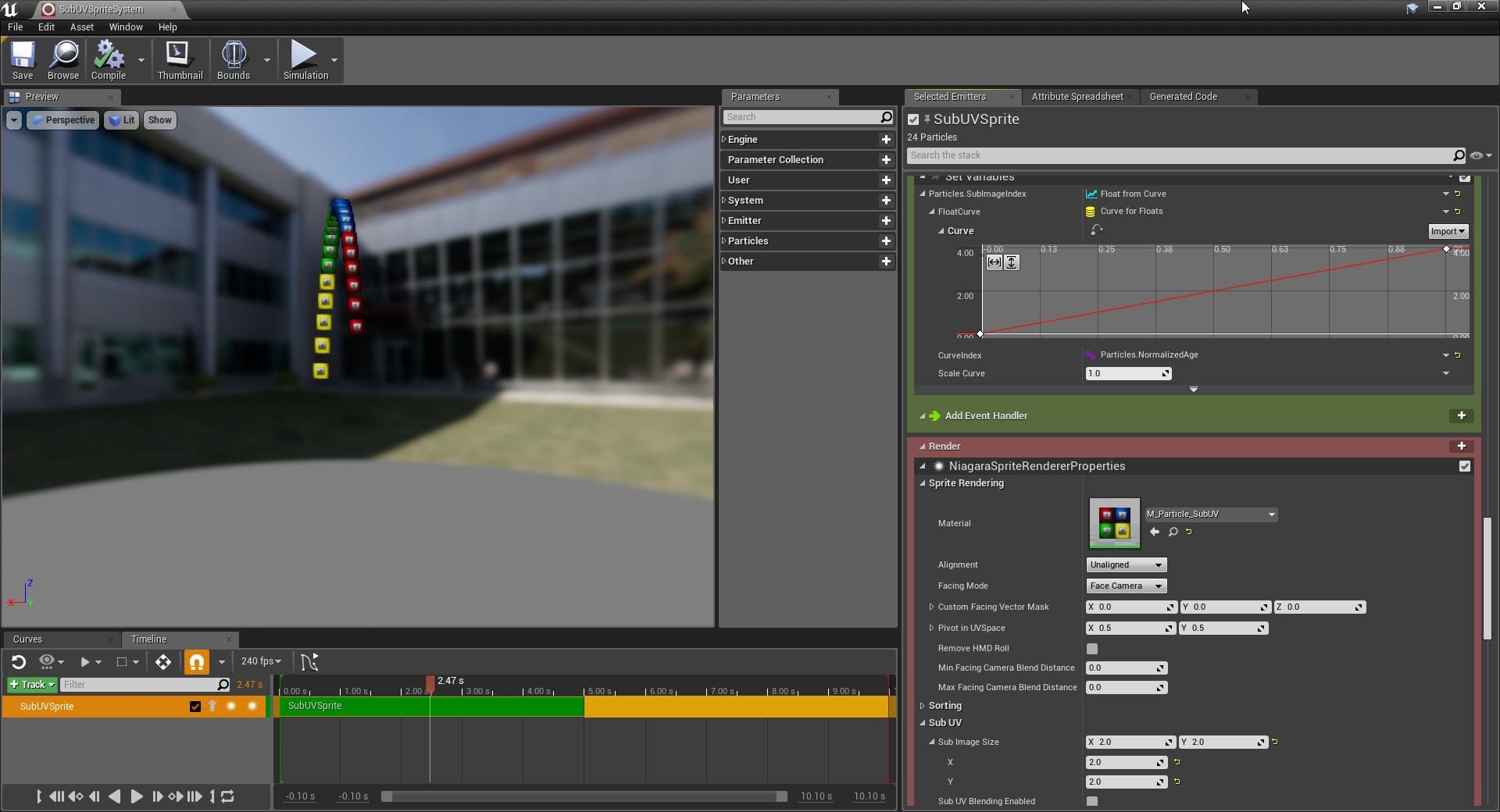 Niagara / unreal GDC - Real Time VFX