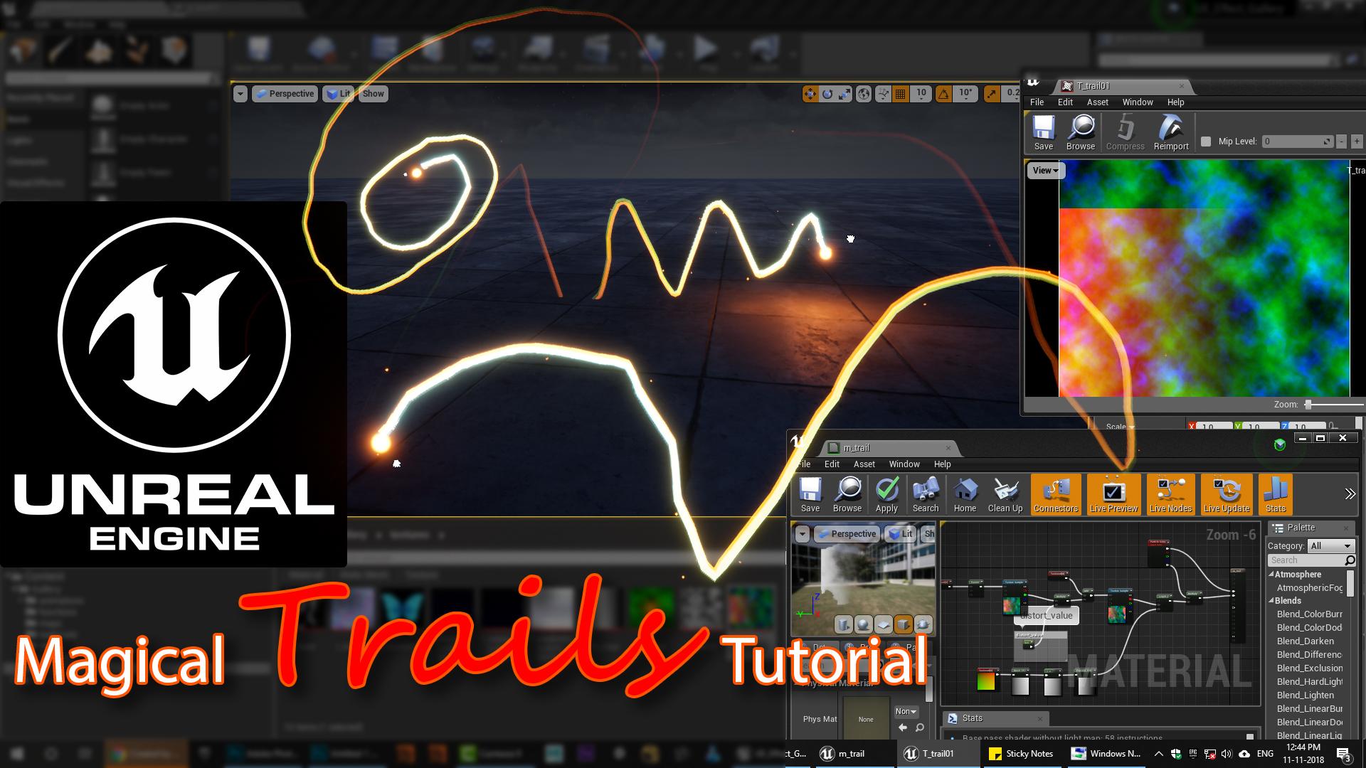 Unreal Engine VFX Tutorials - Real Time VFX