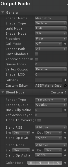 Unity Shader Rendertype Transparent