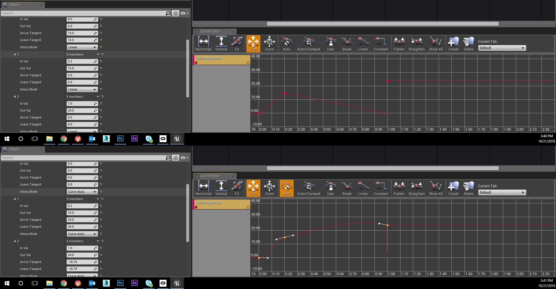 UE4 SubImage Index - Curves Issue [Solved] - Real Time VFX