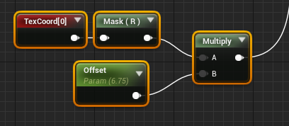 Masking faces in Unreal Text Render for world position